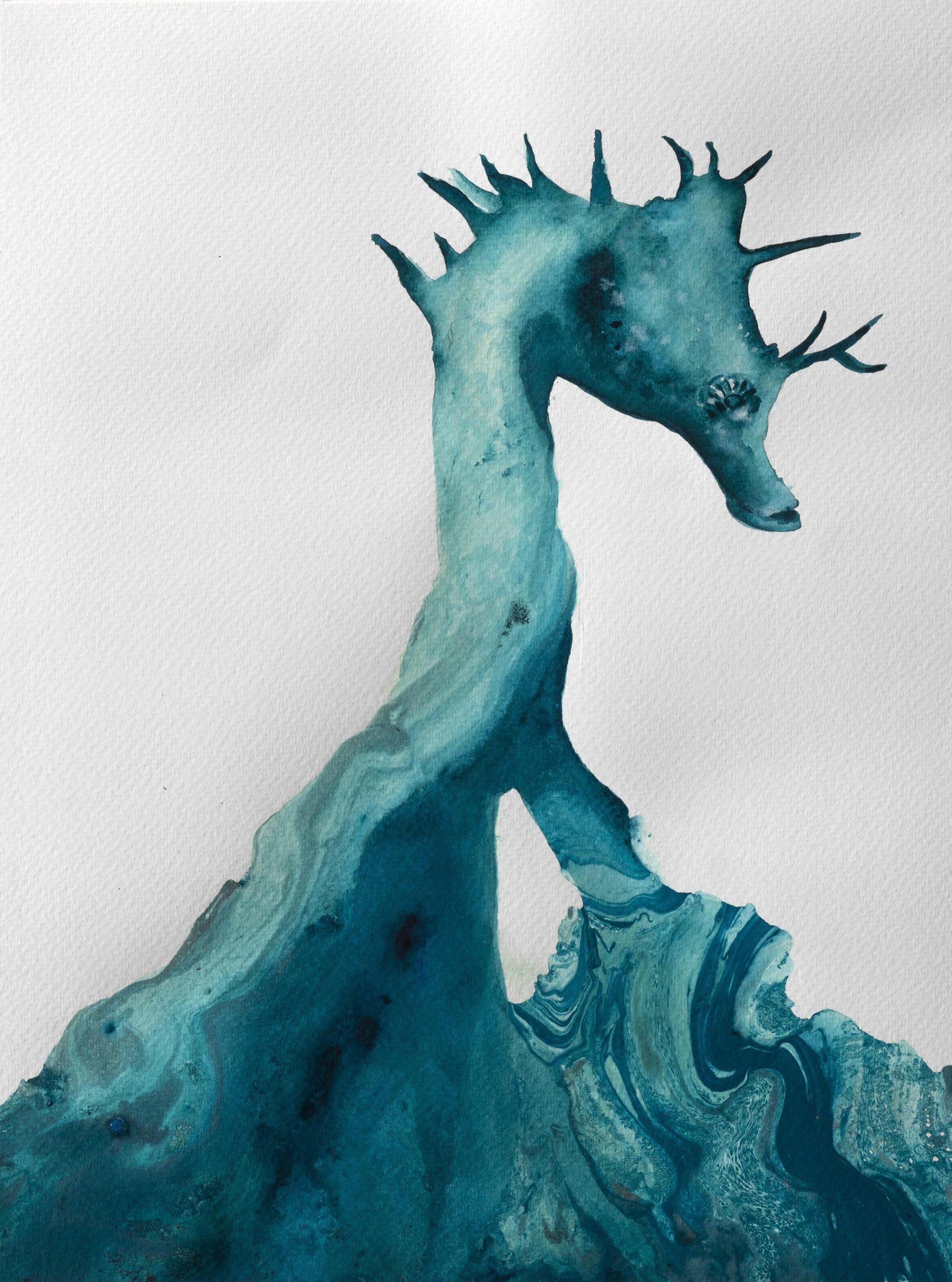 Seahorse Paula Segarra Art
