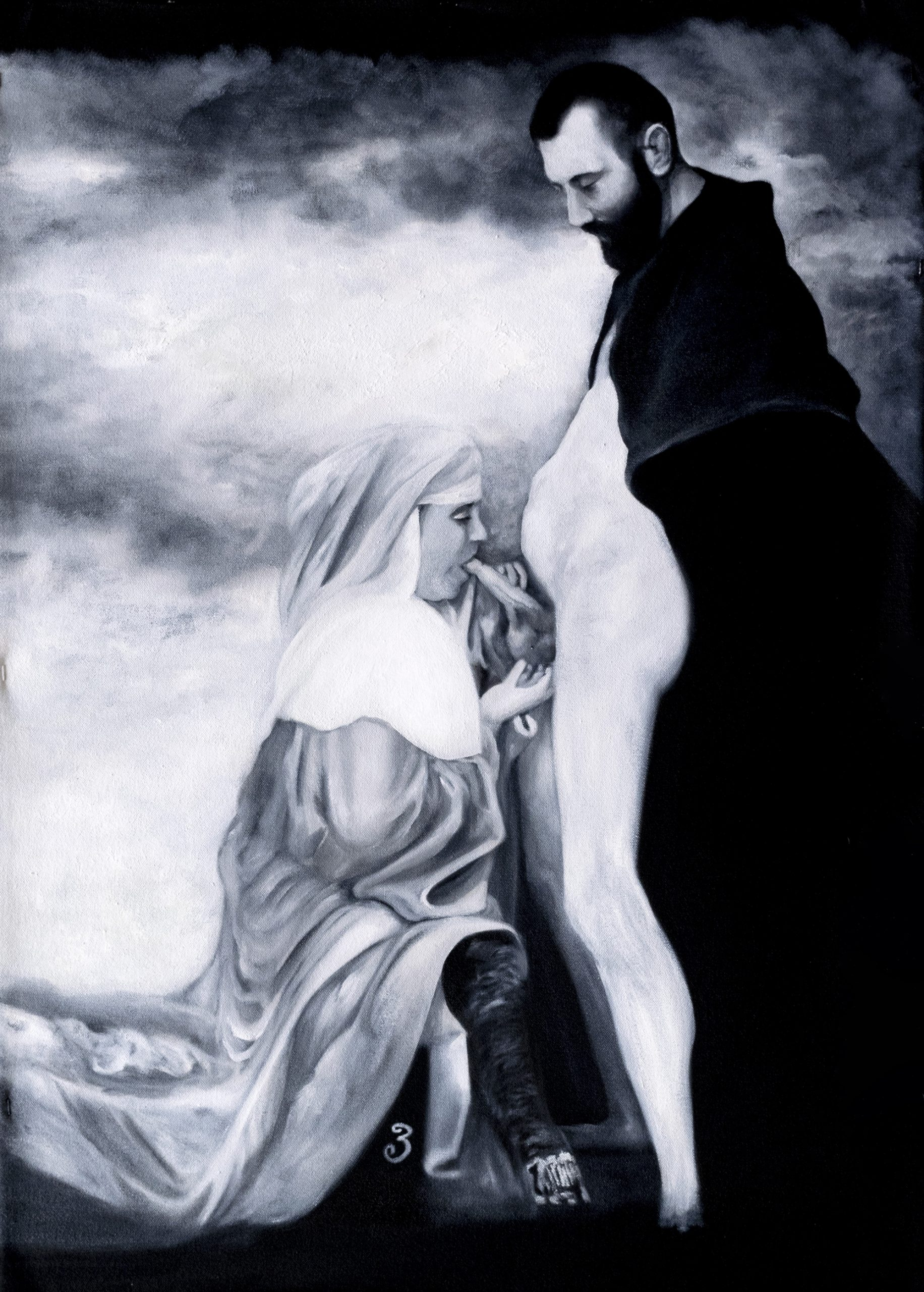 Oremus. Versículo 3. Paula Segarra Art